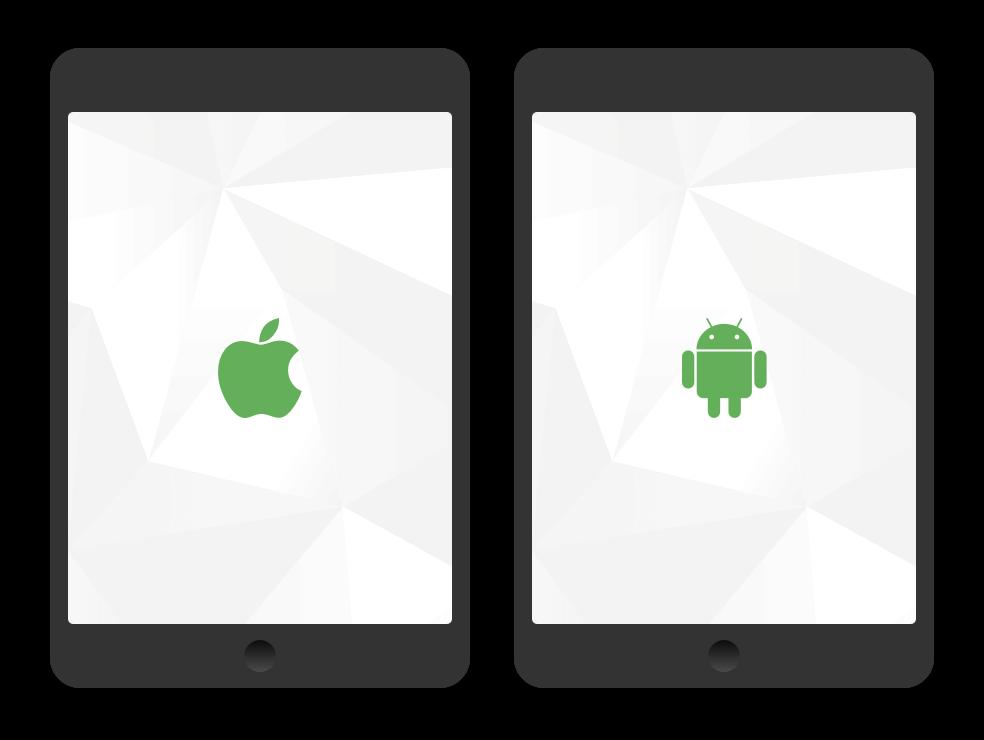 Technik & Distribution der Mitarbeiter App