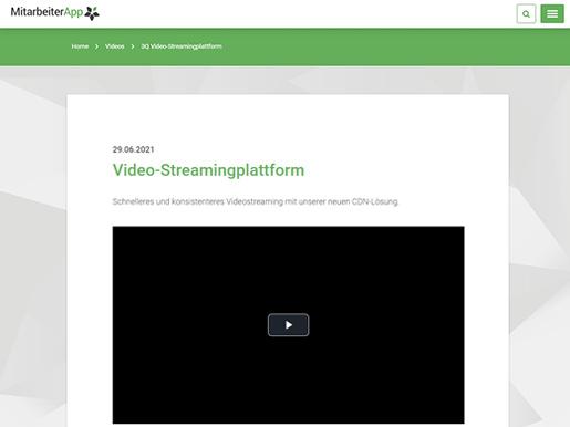 Premium-Modul: Videoplattform